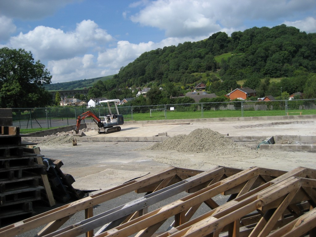 New hall construction