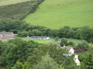 Old hall from castle